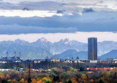 Hochhäuser Neuhausen Panorama - Foto © Heinz Gebhardt